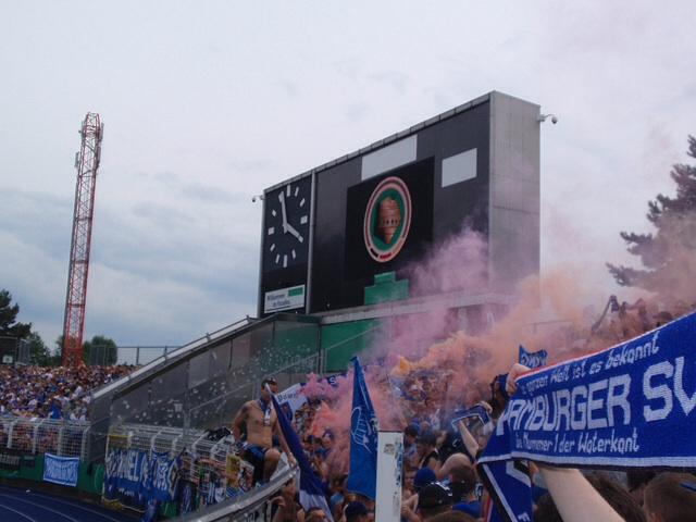 DFB-Pokal ist nur Schall und Rauch
